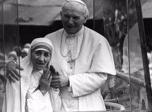 M.Teresa och JPII
